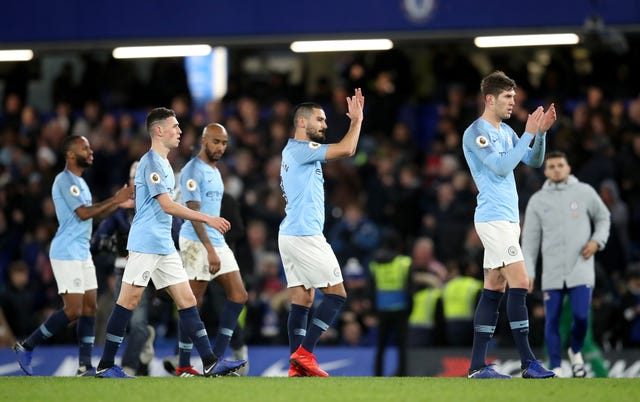 Manchester City were held scoreless by Chelsea