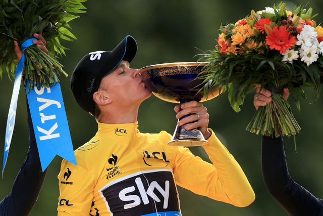Froome is targeting further success at his new team