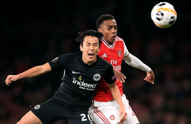Arsenal v Eintracht Frankfurt – UEFA Europa League – Group F – Emirates Stadium