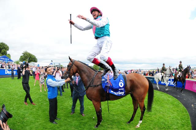 Victory on the Curragh as Enable wins the 2017 Irish Oaks