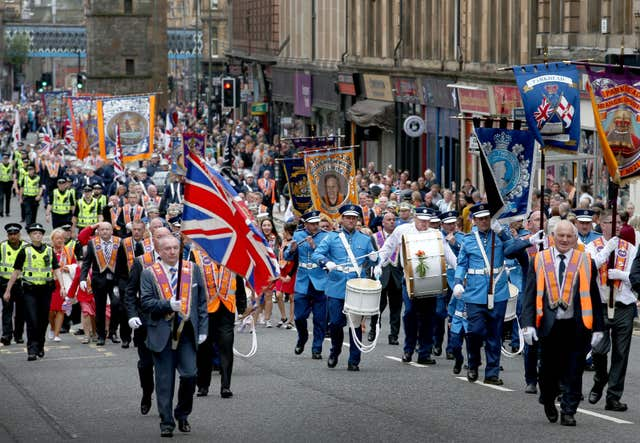 Glasgow Orange March