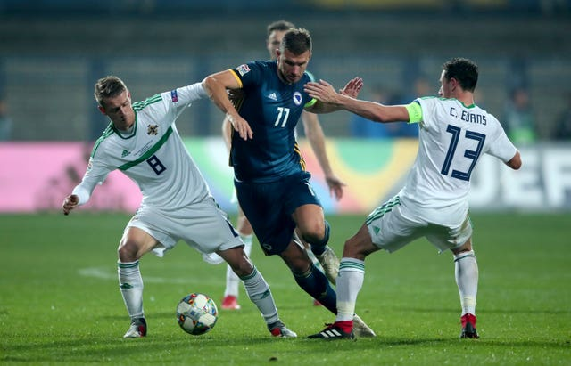 Bosnia and Herzegovina v Northern Ireland – UEFA Nations League – League B – Group 3 – Grbavica Stadium
