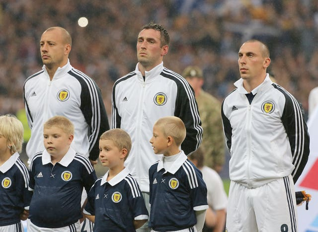 Alan Hutton, Allan McGregor and Scott Brown all quit international football in recent years