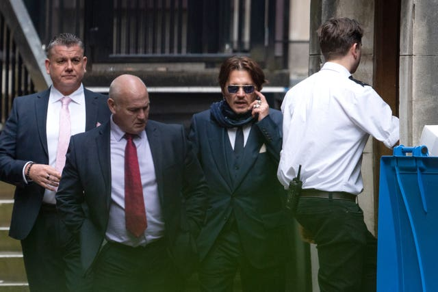 Johnny Depp is suing the Sun