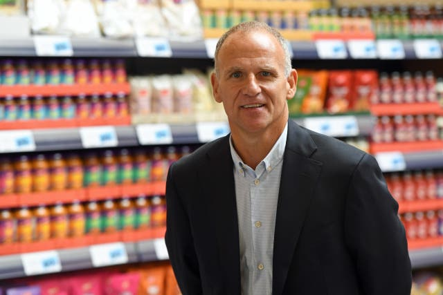 Tesco boss Dave Lewis