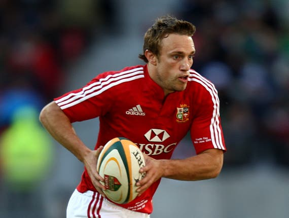 Mike Blair also represented the British and Irish Lions (David Davies/PA)