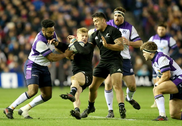 New Zealand and Scotland are due to play each other twice this year