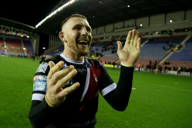 Wigan Warriors v Salford Red Devils – Betfred Super League – Semi Final – DW Stadium