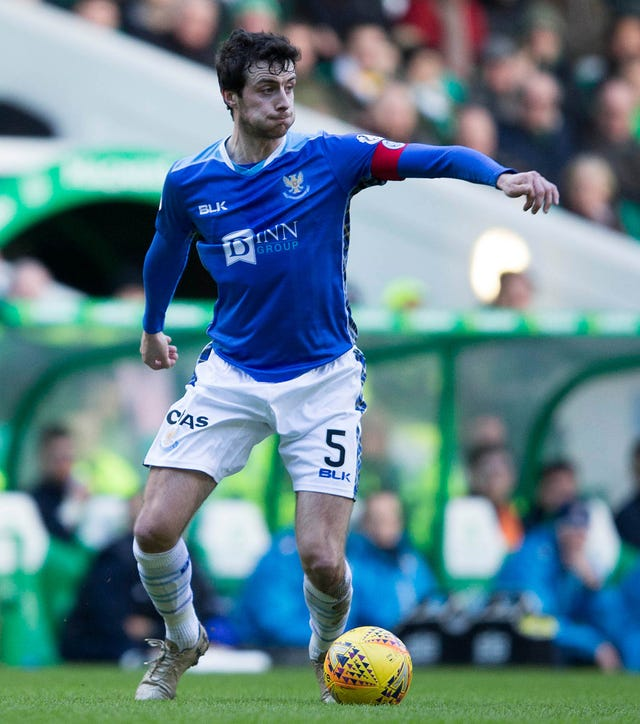 Joe Shaughnessy is expected to leave St Johnstone