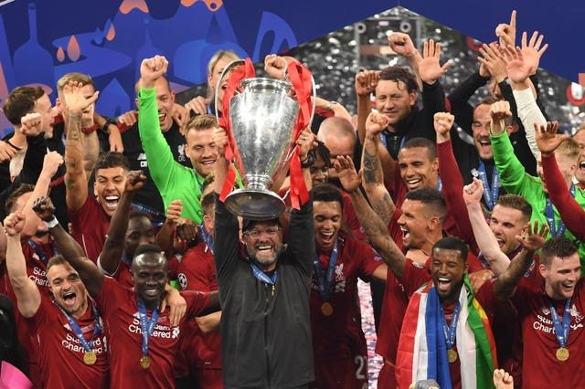 Jurgen Klopp led Liverpool to the Champions League title last season