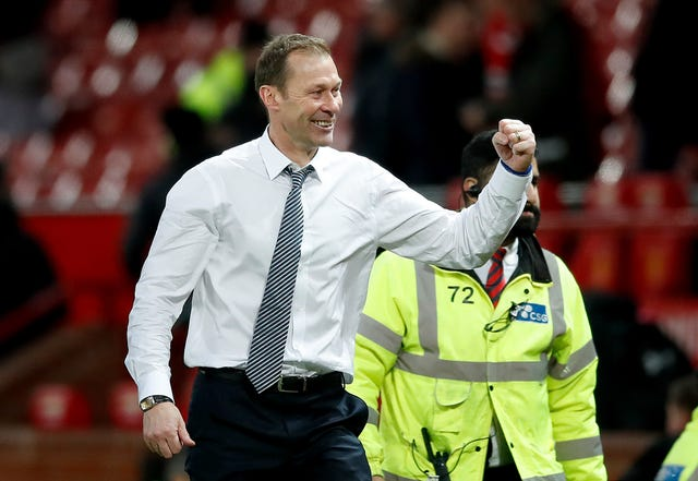 Duncan Ferguson saw his Everton side take a point at Manchester United