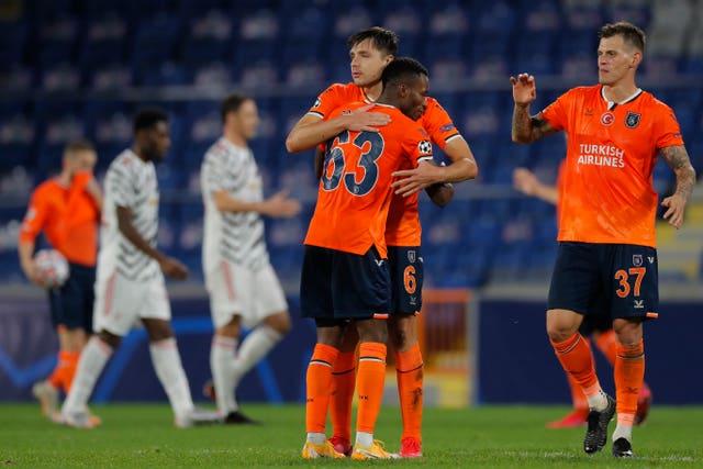 Istanbul Basaksehir stunned Manchester United on Wednesday