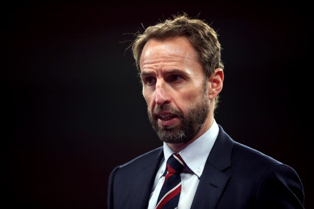 England manager Gareth Southgate saw his side beaten by Denmark