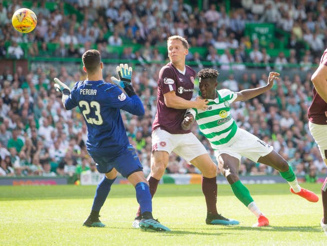 Vakoun Bayo's determination led to Celtic's opener
