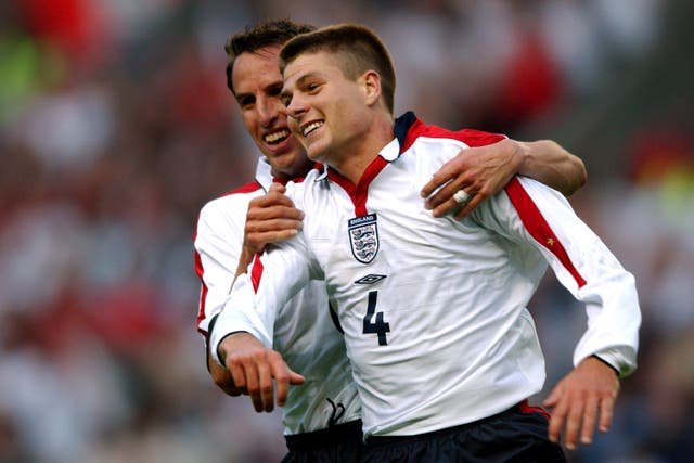 Southgate and Gerrard