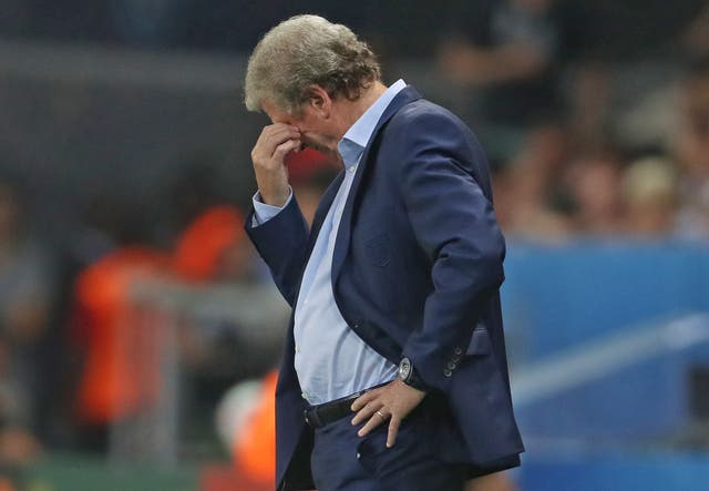 England's loss to Iceland was Hodgson's last match in charge