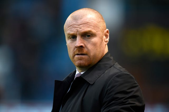 Sean Dyche has faced questions over his future