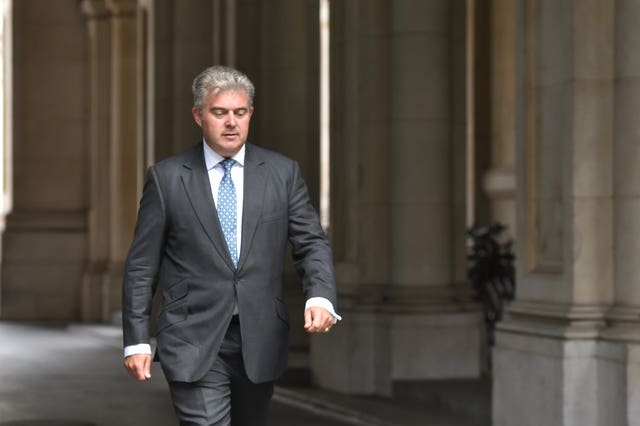 Immigration Minister Brandon Lewis said the Government wants EU nationals in the UK to stay
