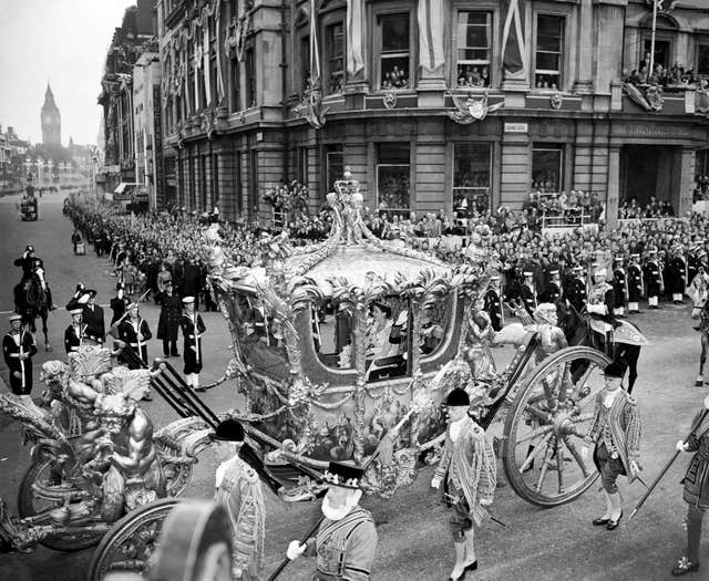 The Queen's carriage procession