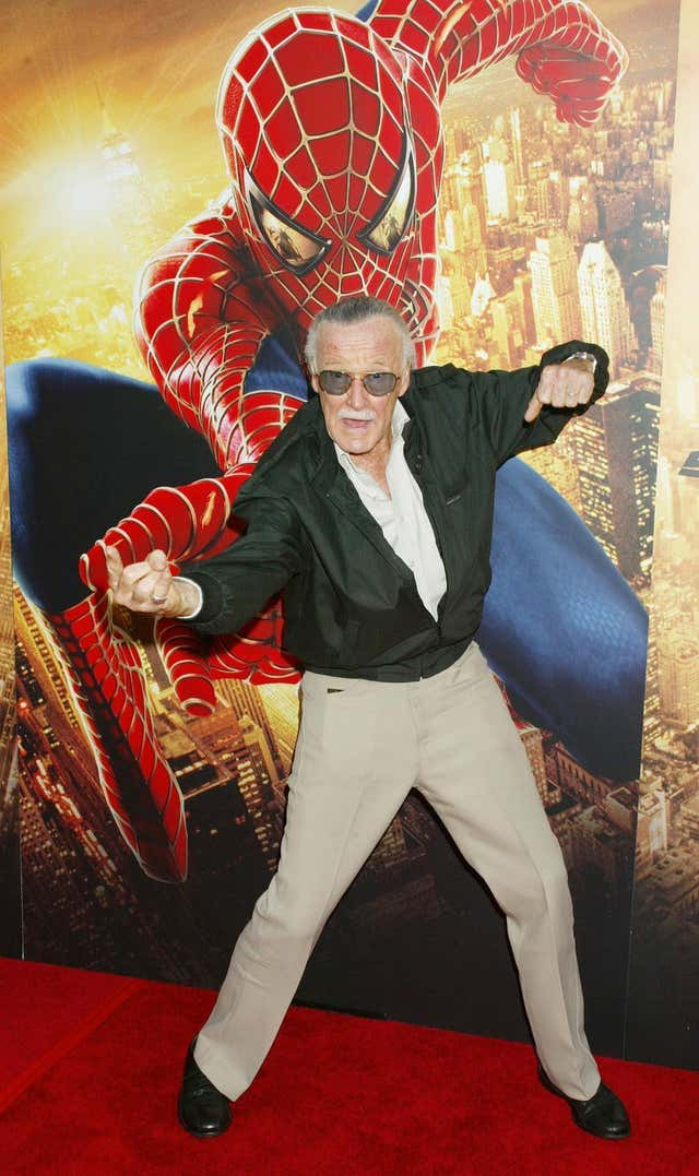 Stan Lee Spider-man 2 premiere