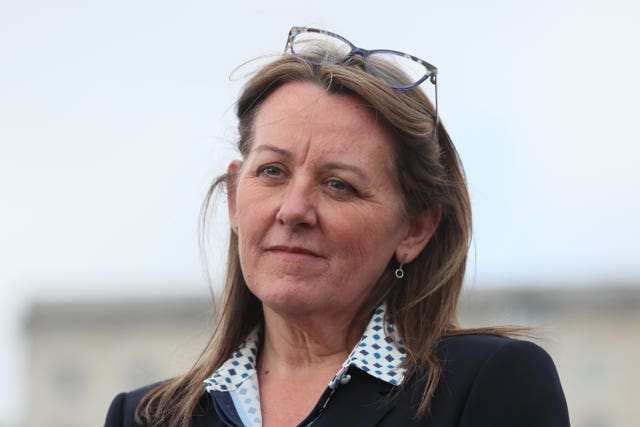 DUP deputy leader Paula Bradley
