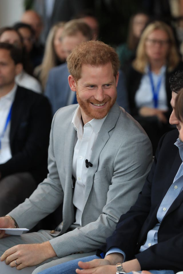 Duke of Sussex visit to Amsterdam