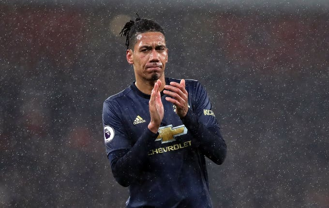 Everton approached United with a loan deal for Chris Smalling