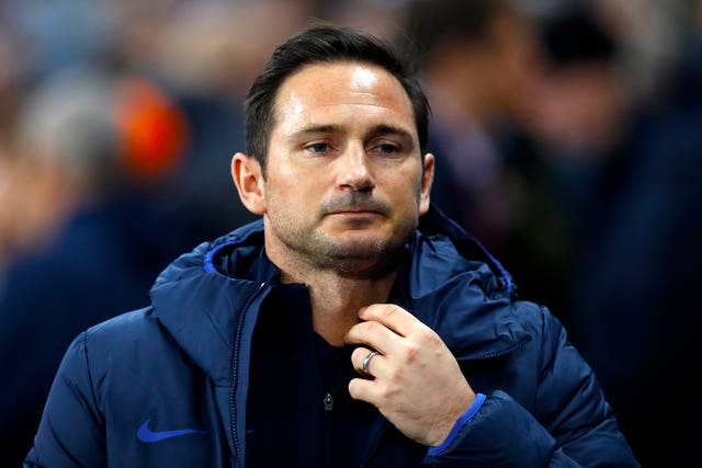 Lampard saw his side lose at home to Bournemouth last time out