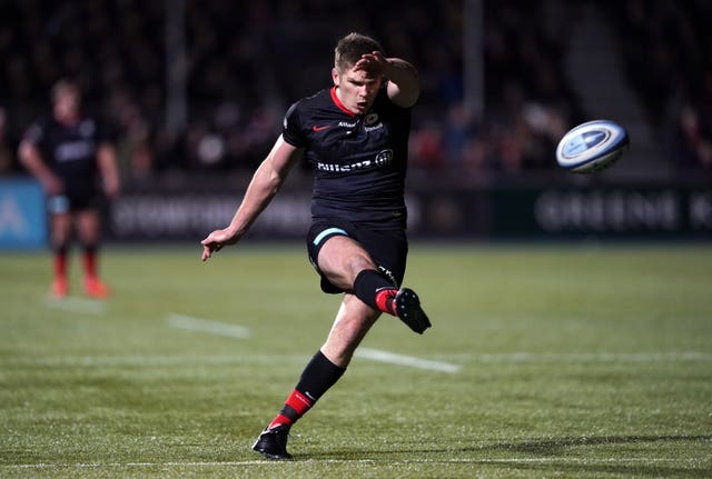 Saracens, with the likes of Owen Farrell, are in a relegation fight