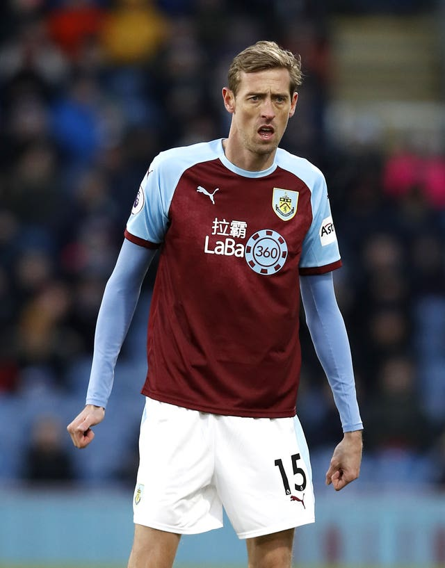 He finished his career back in the Premier League with Burnley