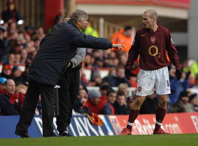 Freddie Ljungberg said he learned a lot under Arsene Wenger during his playing career
