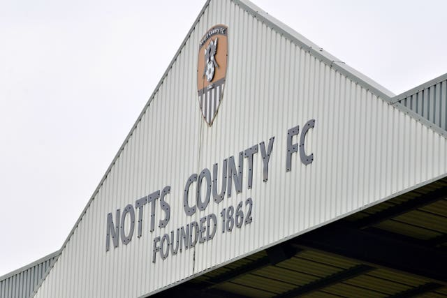 Notts County were relegated from the Football League for the first time in their history last season