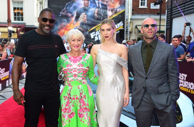 Fast & Furious Presents: Hobbs and Shaw Special Screening – London
