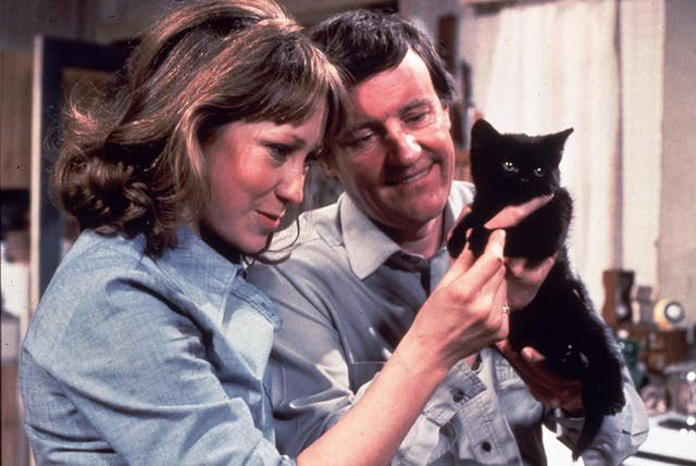 Richard Briers starred in The Good Life