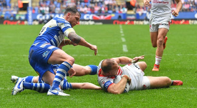 St Helens v Halifax – Coral Challenge Cup – Semi-Final – University of Bolton Stadium