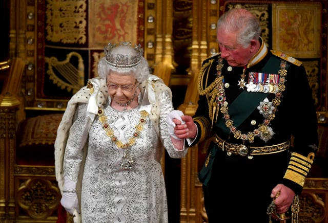 The Queen and Charles
