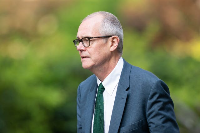 Sir Patrick Vallance (Aaron Chown/PA Wire)