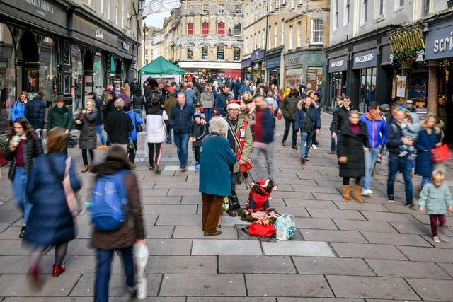 High polluting commercial vehicles will be charged to enter Bath city centre from Monday (PA).