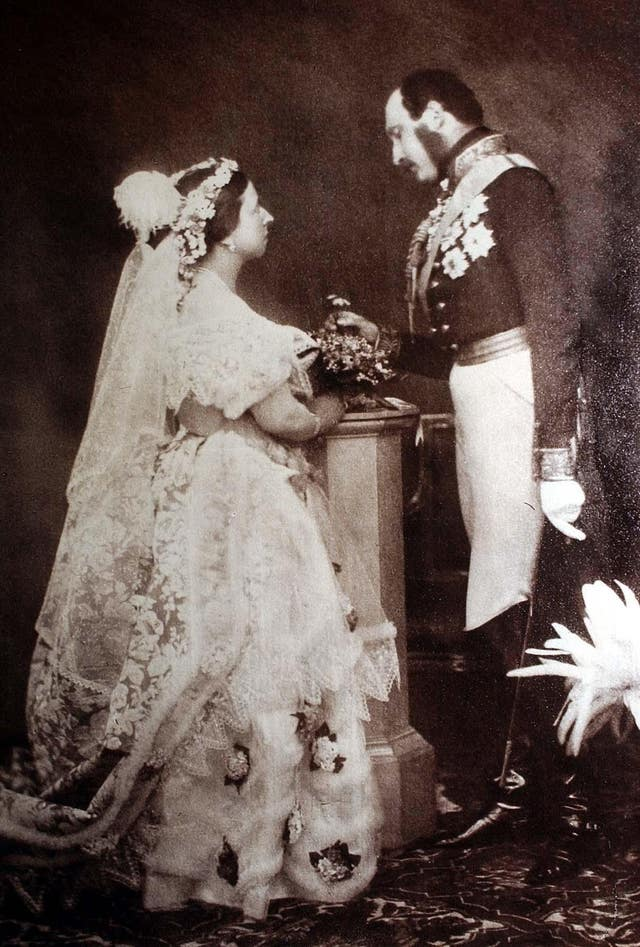 Queen Victoria and Prince Albert (PA)