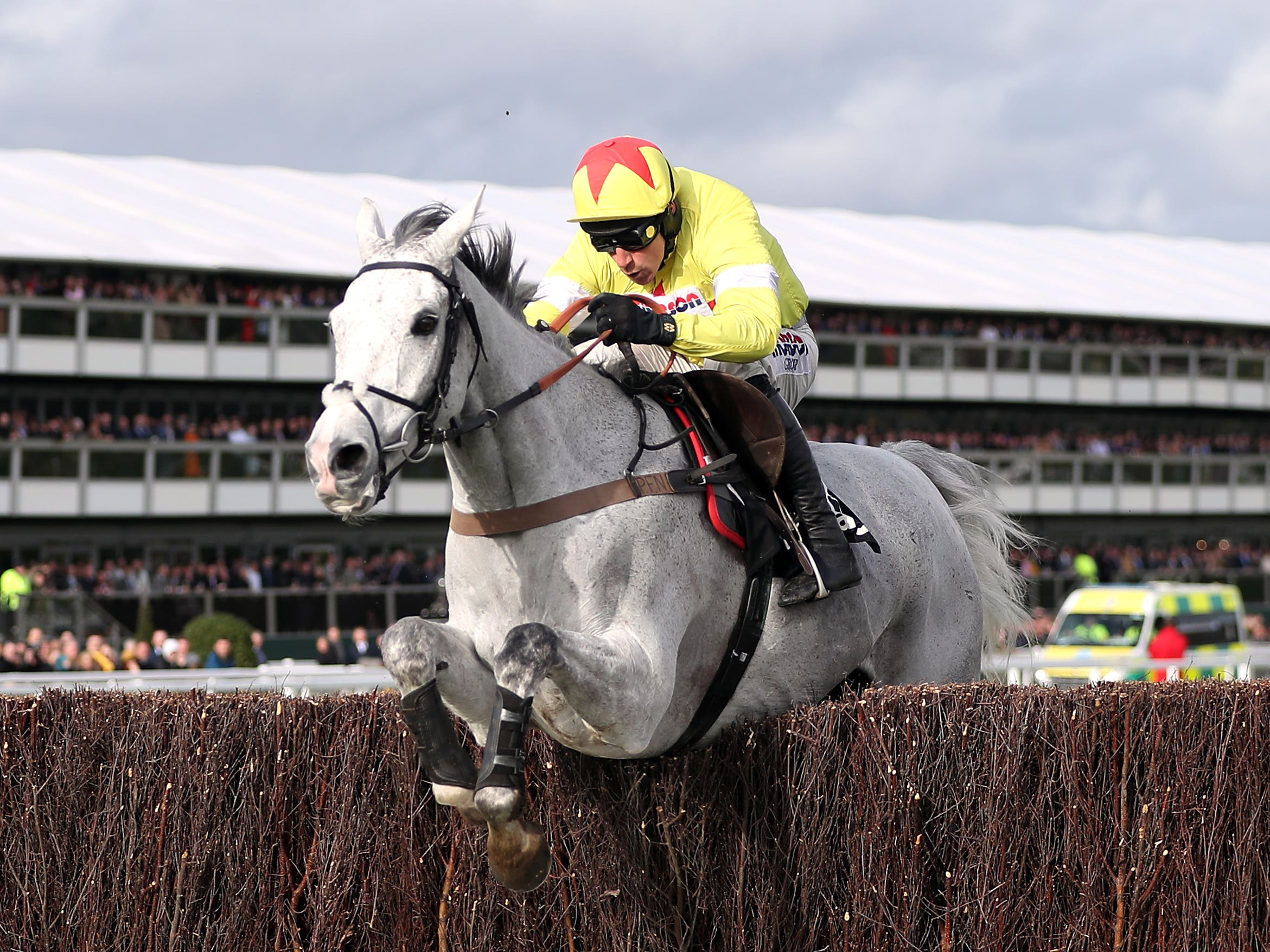 Politologue and Harry Skelton will be chasing more Grade One glory in the Betfair Tingle Creek at Sandown (PA)