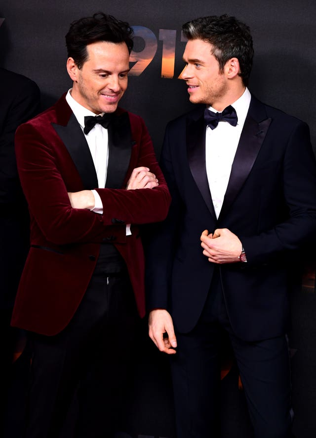 Andrew Scott (left) and Richard Madden