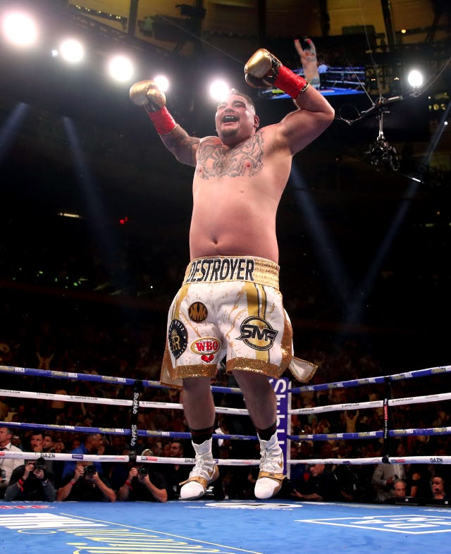Andy Ruiz Jr physique meant he was written off ahead of his bout with Joshua