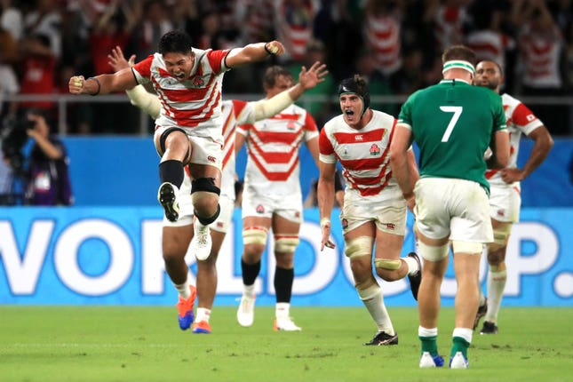 Japan v Ireland – Pool A – 2019 Rugby World Cup – Shizoka Stadium Ecopa