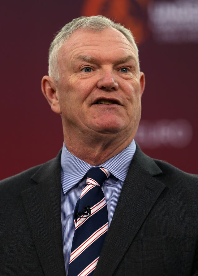 Greg Clarke stood down as a FIFA vice-president last year