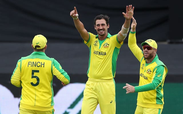 Mitchell Starc has taken 15 wickets in the World Cup (David Davies/PA)
