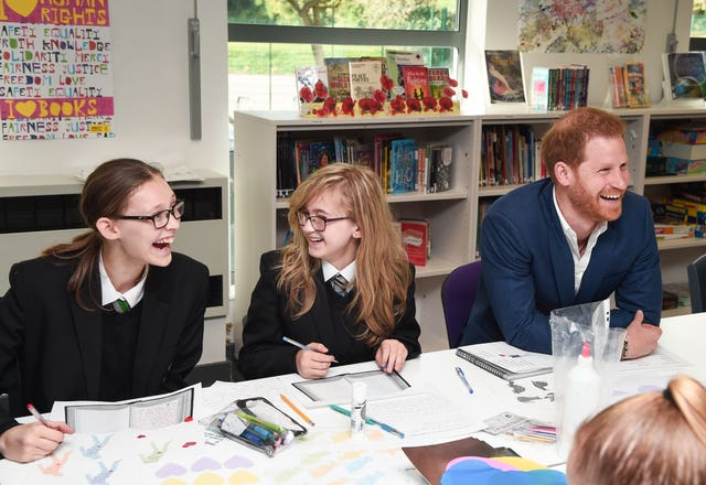 Duke of Sussex visit Nottingham