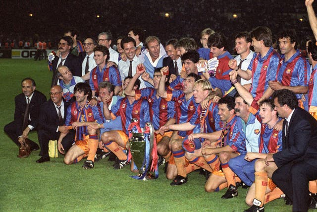 Ronald Koeman was part of Barcelona's 1992 European Cup winners