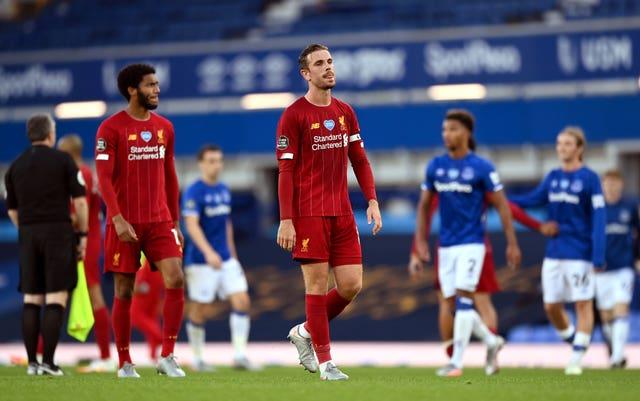 Jordan Henderson felt Liverpool lacked a cutting edge against Everton