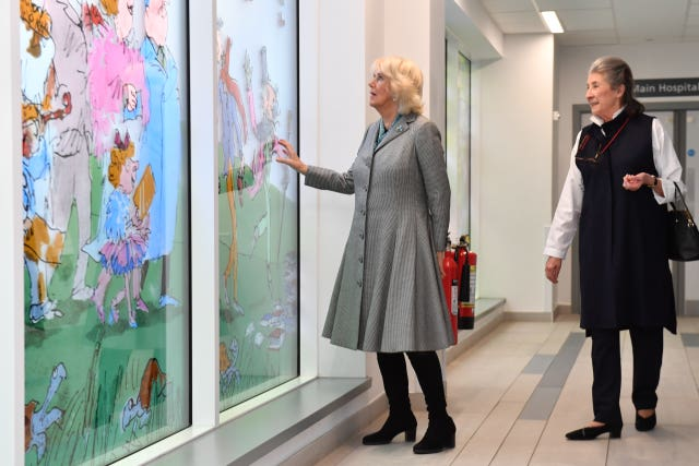 The Duchess of Cornwall visits the West Midlands