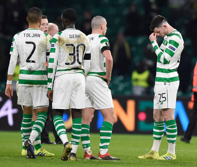 Celtic were well beaten by Valencia